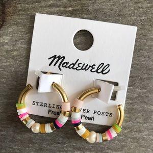 Madewell Market Hoop earrings